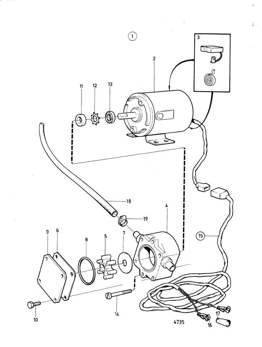 moteurs volvo penta equipements divers pompe electrique de vidange d 39 huile. Black Bedroom Furniture Sets. Home Design Ideas