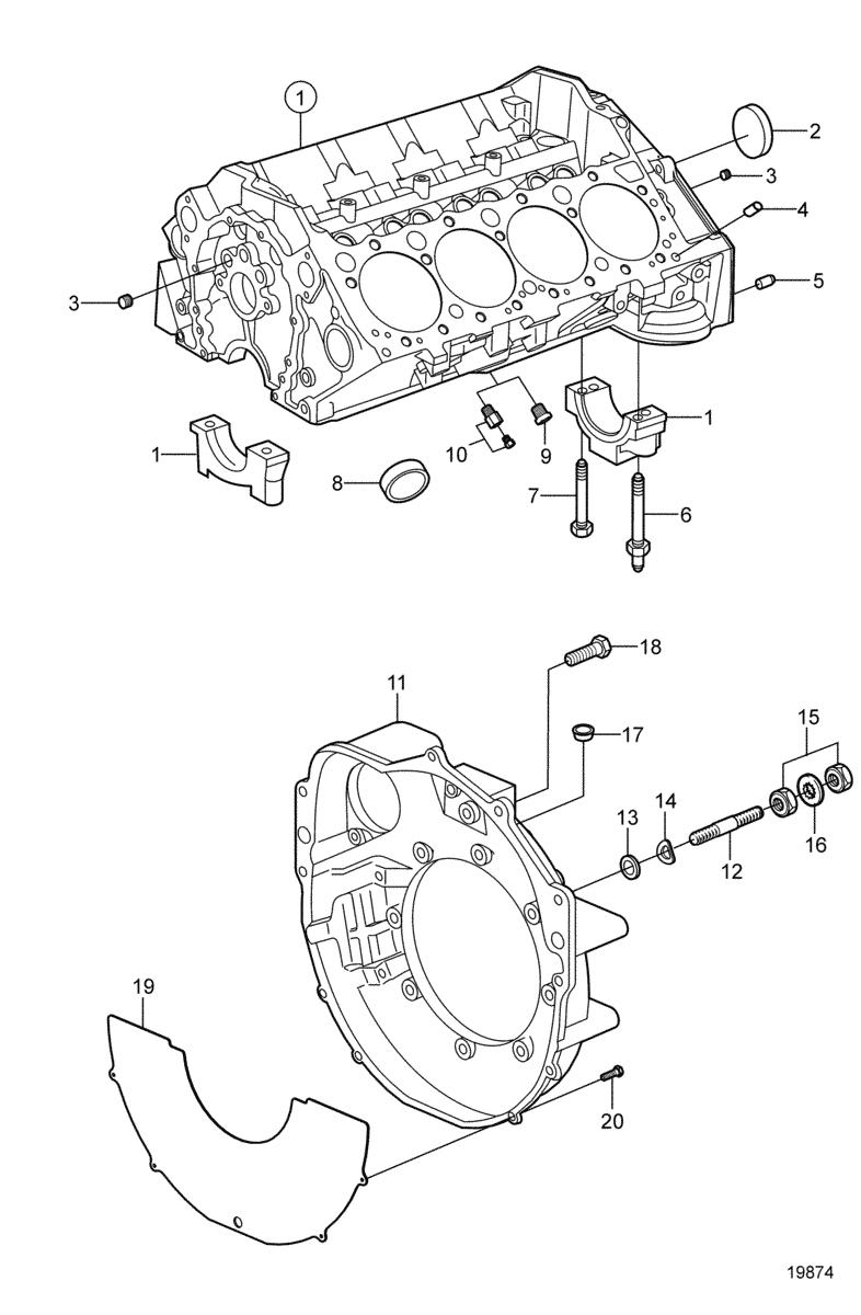 moteurs volvo penta moteurs marins essence 5 7gi e 5 7gi ef 5 7 Volvo Penta Cooling System Diagram moteur
