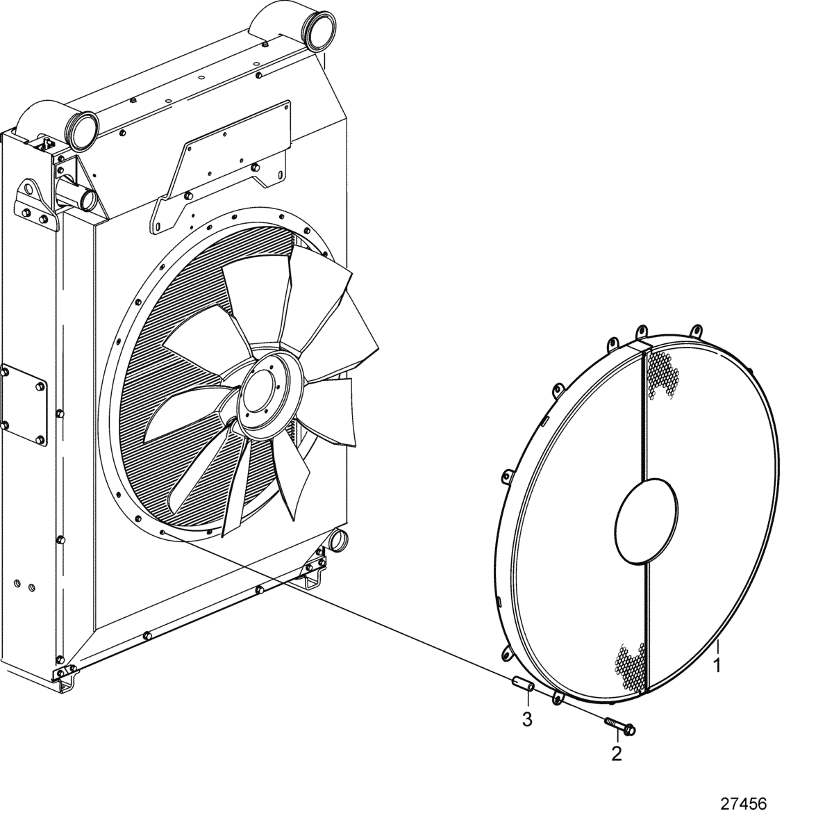 Fan Shroud, Suction
