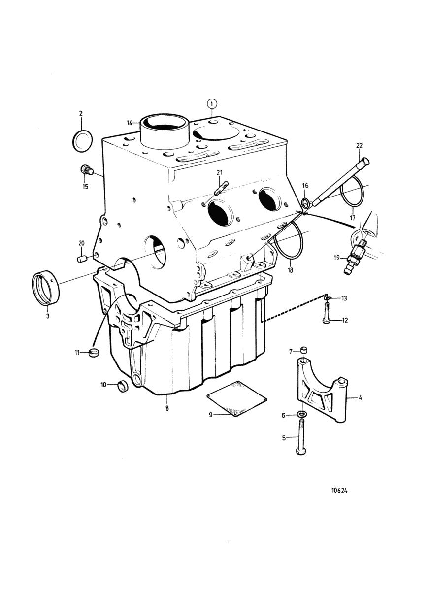 moteurs volvo penta moteur bloc cylindres avec chemises de cylindre service moyen. Black Bedroom Furniture Sets. Home Design Ideas