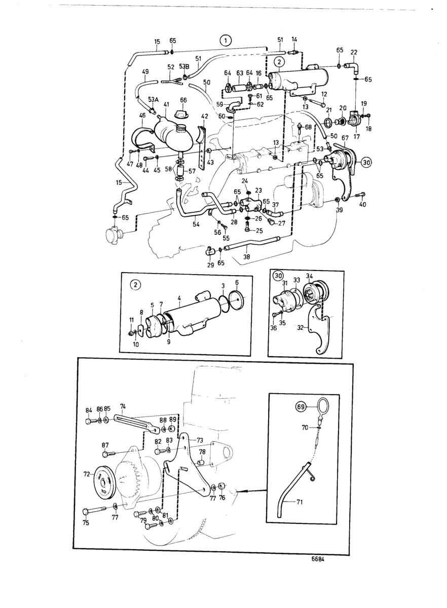 moteurs volvo penta equipements divers refroidissement par eau douce 840602. Black Bedroom Furniture Sets. Home Design Ideas