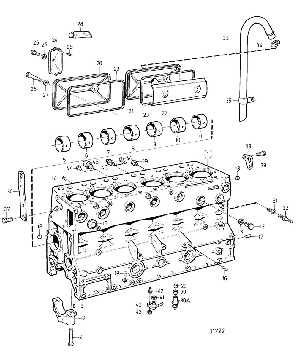 moteurs volvo penta moteur bloc cylindres sn 2071097292. Black Bedroom Furniture Sets. Home Design Ideas